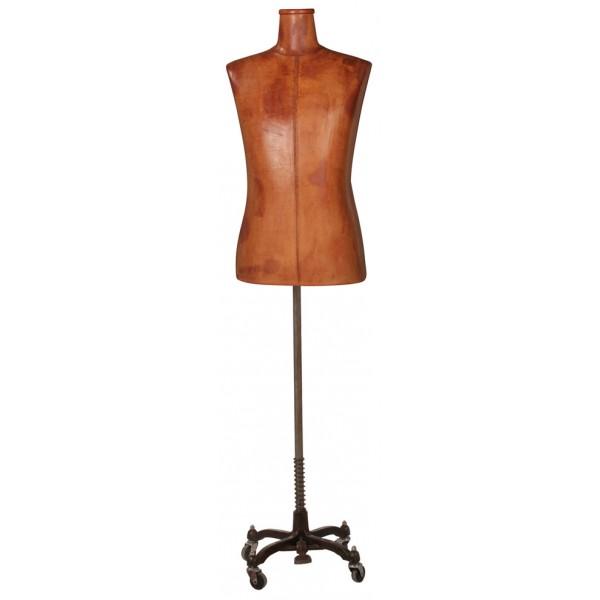 Vintage Display Male Leather Jacket Form - Superior Model